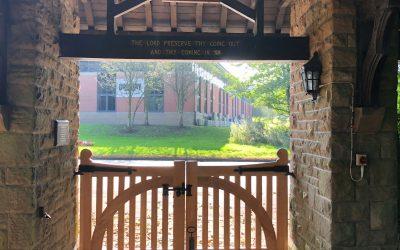 New Churchyard Gates